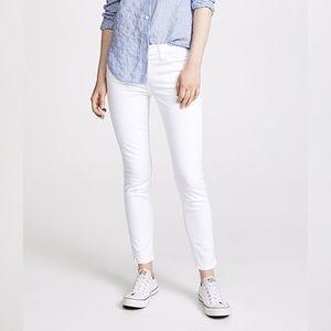 Current/Elliott High Waist Stiletto Skinny Jeans